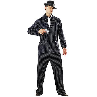 Gin Mill Gangster Costume, M