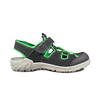 Ricosta Gerald 6522600-496 Grey/Green Boys Closed Toe Sandals