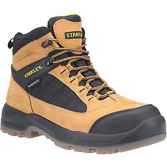 Stanley Mens Berkeley Full Lace Up Safety Boot Honey