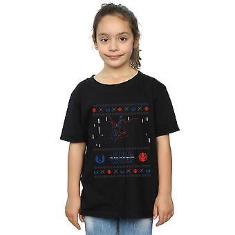 Star Wars Girls The Rise Of Skywalker Christmas Combat T-Shirt