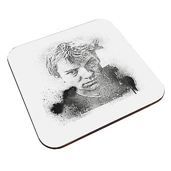 TV Times Portrait Of Musician Sting Coaster