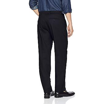 Dockers Men's Classic Fit Signature Khaki Lux, Dockers Navy, Size 34W x 36L