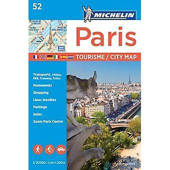 Paris  Michelin City Plan 52 by Michelin