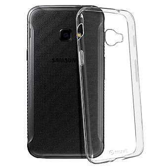 Galaxy Xcover 4/4S Silicone Case Shockproof Thin Crystal- Muvit, Transparent