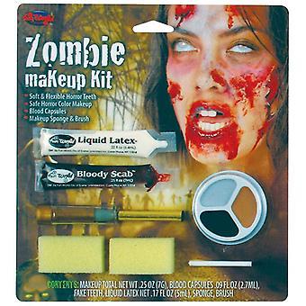 Zombie Make Up Kit Female.