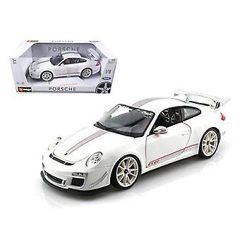 Porsche 911 GT3 RS 4.0 Bianco 1/18 Modello di auto Diecast di Bburago