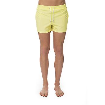 Yellow men's Bagutta swim shorts