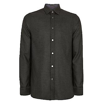Ted Baker Homme-apos;s Chemise Grey Velos