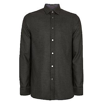 Ted Baker mannen ' s grijs Velos shirt