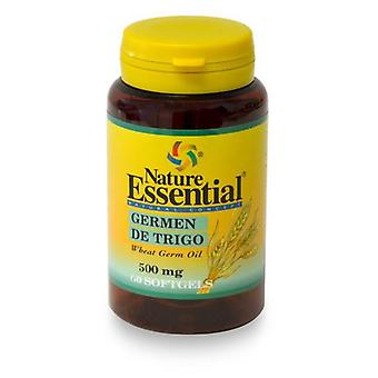 Nature Essential Wheat Germ Oil 500 Mg. 60 Pearls