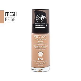 Revlon colorstay makeup kombination/fedtet hud-250 frisk beige 30ml