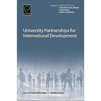 University Partnerships for International Development by Cozza & Barbara