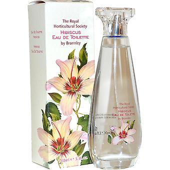 The Royal Horticultural Society Bronnley Eau de Toilette Spray 100ml Hibiscus