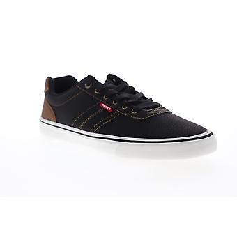 Levis Miles Tumbled WX  Mens Black Low Top Lifestyle Sneakers Shoes