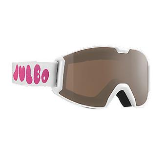 Julbo Ski Mask Snoop XS 2-4 Years White Spectron 3 Brown