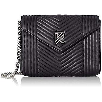 Kaporal Yedop Shoulder bag 25 cm Black (Black)) 6x18x25 cm (W x H x L)