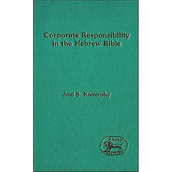 Corporate Responsibility in der hebräischen Bibel (Bibliothek der Hebräischen Bibete/Alttestamentswissenschaft)