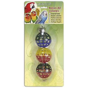 Arquivet Colored Balls for Birds (Birds , Toys)