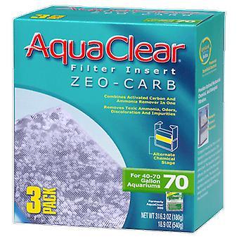 Aquaclear AQUACLEAR 70 ZEO 炭水化物挿入