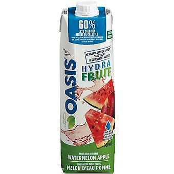 Oasis Hydra Fruit Watermelon Apple-( 960 Ml X 1 Bouteilles )