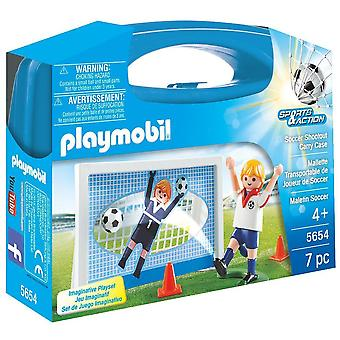 Playmobil 5654 Football Shootout Carry Case - Small