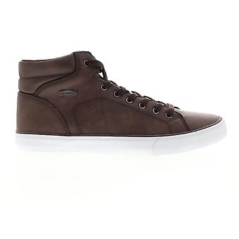Lugz King LX  Mens Brown Synthetic Lace Up Low Top Sneakers Shoes