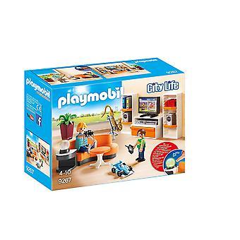 Playmobil 9267 városi élet nappali a munka fények