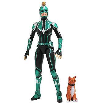 Marvel Selecteer Captain Marvel Movie Starforce Command Actiefiguur