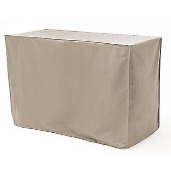 Pedra à prova d'água de mesa retangular cobertura de mesa jardim móveis pesados pu fabric