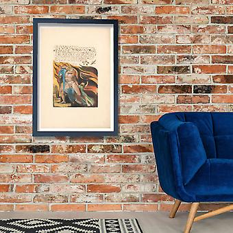 William Blake - Shot from the heights Poster Print Giclee