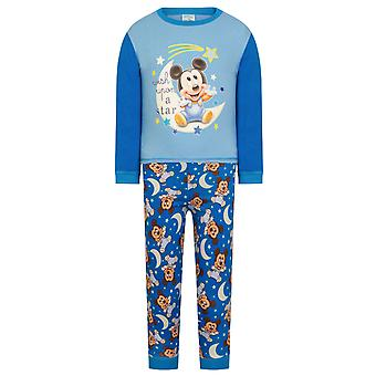 Disney Mickey Minnie Mouse Resmi Hediye Bebek Toddler Boys Kız Pijama