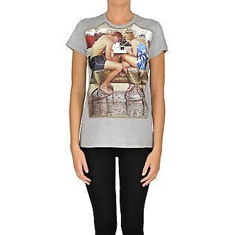 N°21 Ezgl068176 Women's Grey Cotton T-shirt