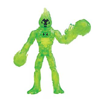 Ben 10, Action Figure - Out of the Omnitrix Heatblast
