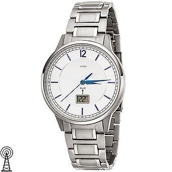 JOBO Men's Wristwatch Radio Radio Watch Titanium Date Men's Watch