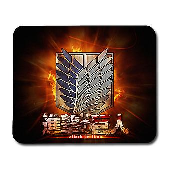 Attack on Titan Logo Mouse Pad