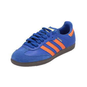 Adidas Originals SAMBA OG Kvinders Sneakers Blue Gym Sko Sport Run