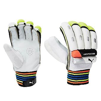 Puma EvoSpeed 6 Junior Kids Boys Cricket Batting Glove White/Black