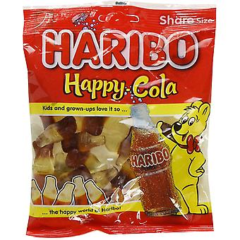 HARIBO Happy Cola 1.7kg, dulces a granel, 12 paquetes de 140g