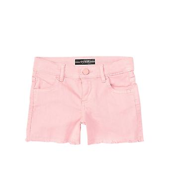 Guess Girls' Bull Denim Shorts