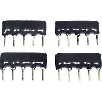 TANCAP SIP-A09-103G Cermet resistor 10 kΩ THT SIP 9 0.125 W 1 pc(s)