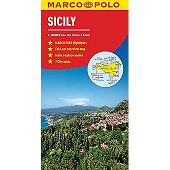Sicily Marco Polo Map by Marco Polo - 9783829755788 Book