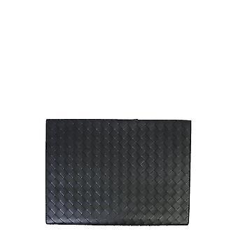 Bottega Veneta 603432vcpq18984 Men's Black Leather Document Holder