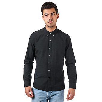 Mænd's Levis langærmet Pacific Shirt i sort
