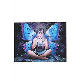 Anne Stokes Spell Weaver Canvas Plaque