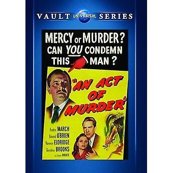 Ein Act of Murder [DVD] USA import