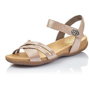 Rieker rosa rosa sandaler kvinnors rosa 002