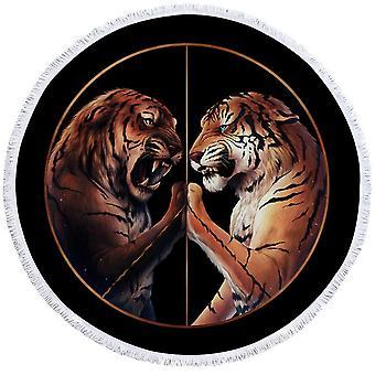 Tiikerit taistella ranta pyyhe