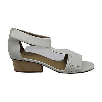 Vaneli Womens Calyx Leather Open Toe Casual Enkelband Sandalen
