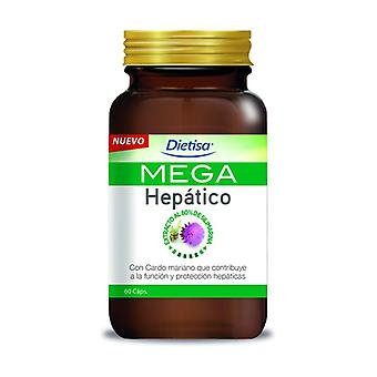 Mega Hepatic 60 capsules