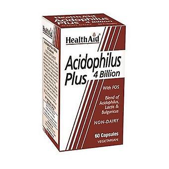 Acidophilus plus 4 miljardia 60 kapselia
